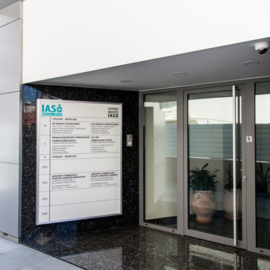 IASO building entrance limasol cyprus